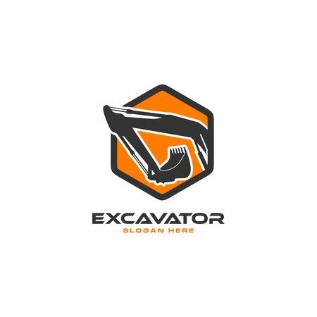 Excavator icon image illustration Ilustração