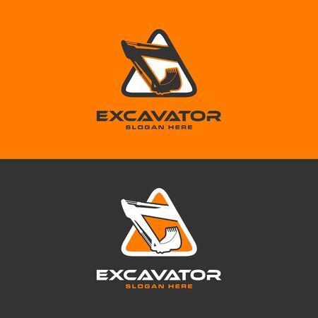 Ilustración de imagen de icono de excavadora Foto de archivo - 98410247
