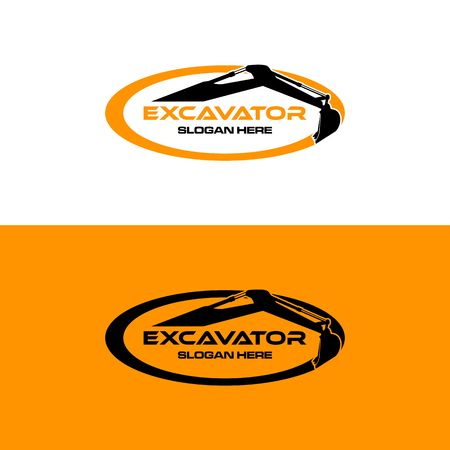 Excavator icon image illustration Banco de Imagens - 98411428