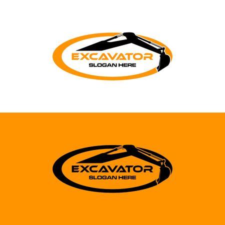 Excavator icon image illustration Illustration