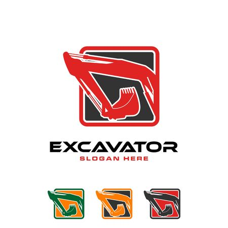Ilustración de imagen de icono de excavadora Foto de archivo - 98411429