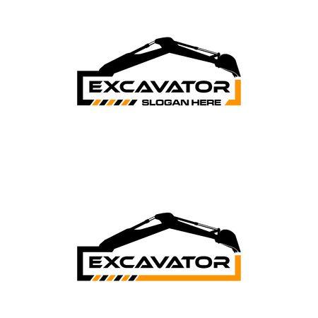Ilustración de imagen de icono de excavadora Foto de archivo - 98411431