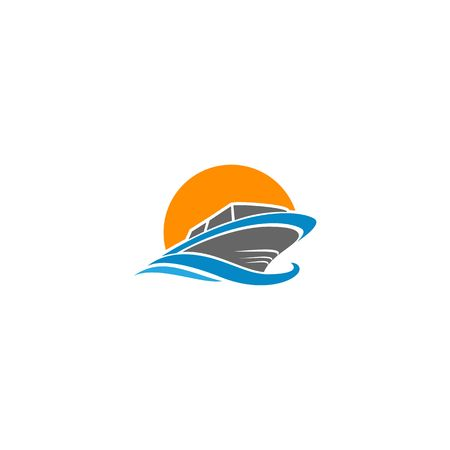 Boat icon image illustration