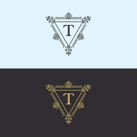 Luxury brand, Real Estate, crest icon. Vector icon template. Imagens - 97945303