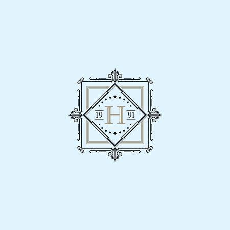 Luxusmarke, Immobilien, Wappenlogo, Wappen, Krone, königlich, Mode, Hotellogo, Boutique-Marke, Vektor-Logo-Vorlage Standard-Bild - 97871812