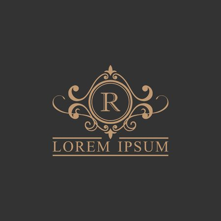 Luxury brand, Real Estate, crest icon. Vector icon template. Imagens - 97945307