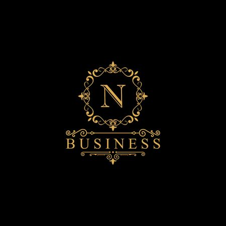 Luxury brand, Real Estate, crest icon. Vector icon template. Imagens - 97945311