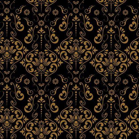 Tribal mandala textile design illustration