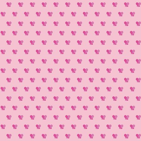 Abstract love geometric pattern illustration
