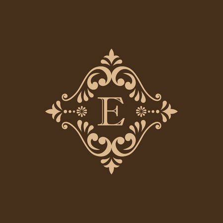 Luxury brand, Real Estate, crest icon. Vector icon template. Imagens - 97945921