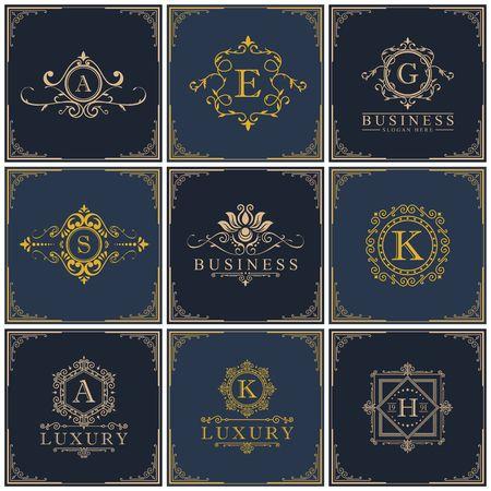 Luxury royalty design icon illustration Vectores