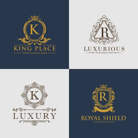 Luxury royalty design icon illustration Imagens - 98414293