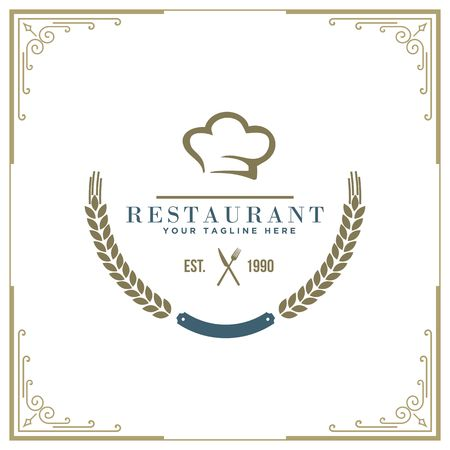 Restaurant icon illustration Banco de Imagens - 98414305