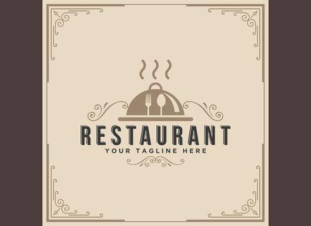Restaurant icon illustration Ilustração
