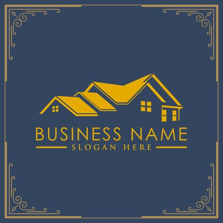 Luxury Real Estate, Building and Construction Logo Vector Design.