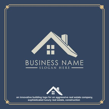 Luxury Real Estate, Building and Construction Logo Vector Design Imagens - 97991482