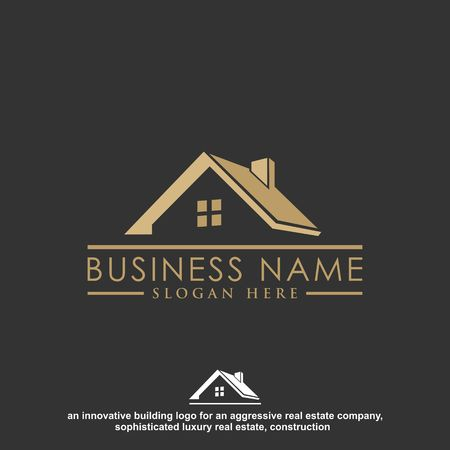 Luxury Real Estate, Building and Construction Logo Vector Design Imagens - 97991630