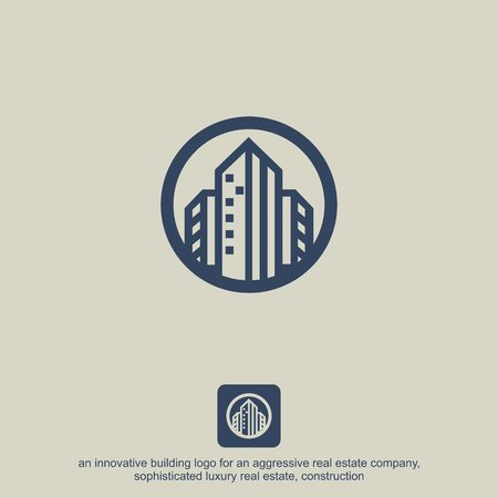 Luxury Real Estate, Building and Construction Logo Vector Design Imagens - 97991633