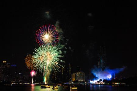celebration: Fireworks Celebration Stock Photo