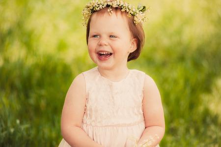 girl fun children smile photo