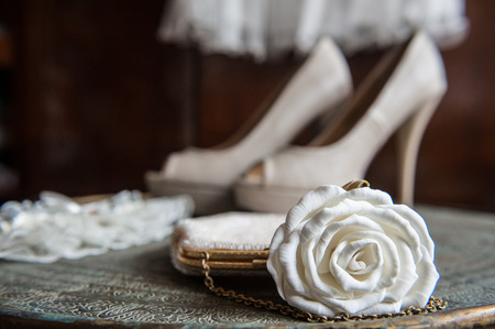 indische muster: Braut-Accessoires