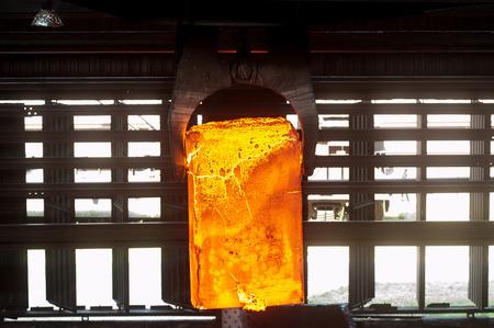 ferrous foundry: hot metal plate