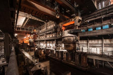 Interior de una acería