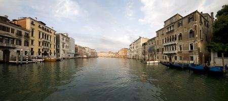 Panoramic view from Venice Stock Photo - 3656704
