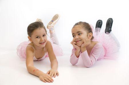 tender tenderness: Sweet little ballerinas