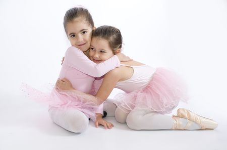 Sweet little ballerinas
