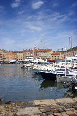 Port in Saint Tropez