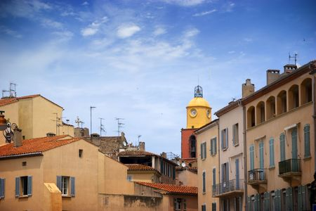 tropez: Facades from Saint Tropez