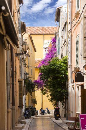 Saint Tropez street