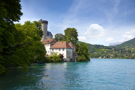 View from lake Annecy in French alps Stock Photo - 10317872