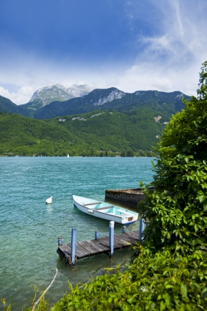 Lake Annecy in French Alps