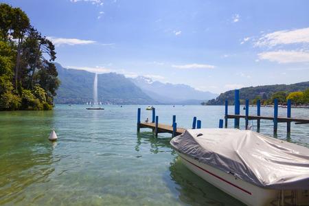 Lake Annecy, France, region Haute Savoie