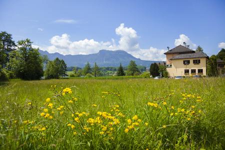 tirol: Landscape view from Tirol, Austria Stock Photo