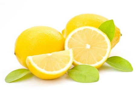 fresh lemons photo