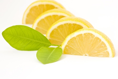 pieces of lemon photo