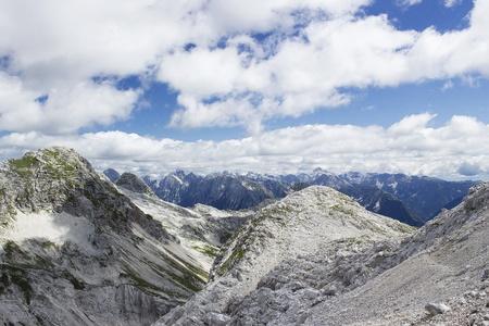 julian alps in the summer, slovenia Stock Photo - 12887534