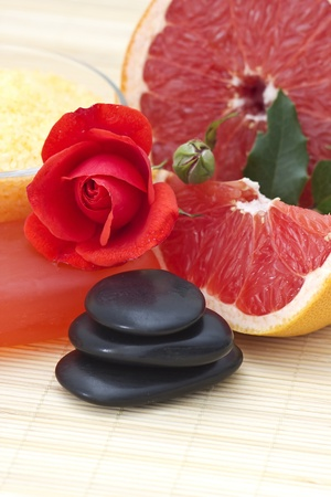 grapefruit spa products photo