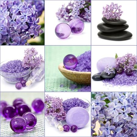 Collage Spa Belle Banque d'images - 13227734