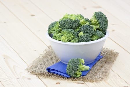 fresh broccoli in a bowl Stock Photo - 13249829