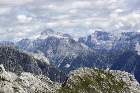 julian: julian alps in the summer, slovenia