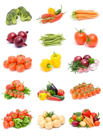 collection of vegetables photo