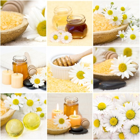 Beautiful Spa collage  photo