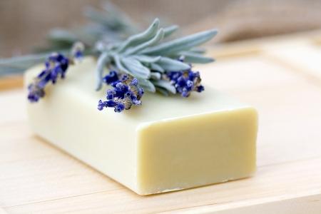 bar of soap: bar of natural soap