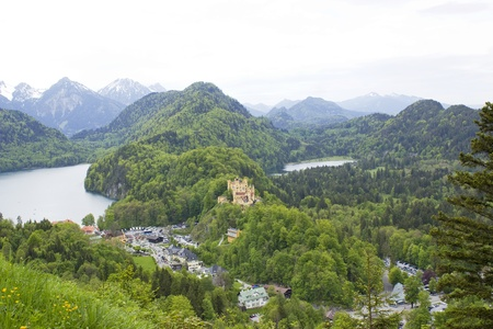 German Hohenschwangau Castle in Bavaria  photo