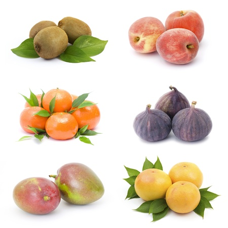 collection of fresh fruits photo