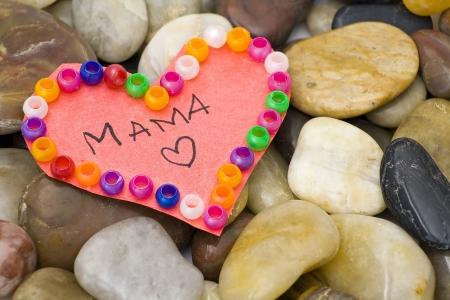 hearts on stones photo